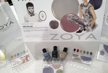 Mercedes Benz Fashion Week - NYFW FW13 - Zoya Nail Polish / Mercedes Benz Fashion Week (MBFW) and New York Fashion Week (NYFW) - Zoya Nail Polish sponsored Fall 2013 (FW13) shows. Zoya is the new color of fashion! http://www.zoya.com / by Zoya Nail Polish