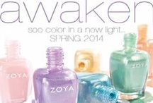 Zoya Nail Polish Awaken Collection - Spring 2014 / Open your mind to the beauty of color discovery; the new, the unexplored, the excitement! Awaken by Zoya - Six new, full-coverage, dew-drenched creams and gold-kissed metallic nail polish colors for Spring 2014. Full of pure pigment, intense color and modern complexity that will take you far beyond the hazy, barely there hues of seasons past into a new world of chromatic joy. / by Zoya Nail Polish