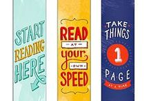 Bookmark Ideas / Great examples to inspire your bookmark-making teams during the Literacy Challenge! Learn more about the Literacy Challenge here: http://studentsrebuild.org/literacy / by Students Rebuild