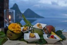 Mango Madness Festival / Mango Madness or 1001 Things You Could Do To A Mango Before You Die has been brought to life by JADE MOUNTAIN consulting Chef Allen Susser and his team, celebrating the many varieties of mangos available in St Lucia.  / by JADE MOUNTAIN