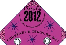 Best Designs / Professionally printed graduation cap decorations from TasselToppers.com / by Tassel Toppers