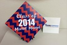 Graduation 2014! / Tassel Toppers Decorated for Graduation 2014! #tasseltopper #graduation2014 / by Tassel Toppers