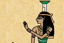 Nephthys / Sister/wife of Set, Sister/lover(?) of Osiris, sister of Isis.  Possibly mother of Anubis, depending on the tradition.  She represents the transition, mostly from life to death / by spiderwitch A.