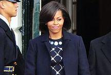 Michelle Obama •♡• Style / #FirstLady #Obama #Michelle #Style #Fashion #Dress #FLOTUS / by Thandi Dlodlo