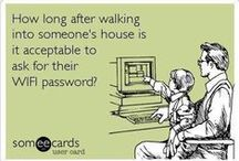 Ecard Collection / Ecards deserves its own board. / by Christine