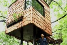 Tree House Love ✿ / #tree #house #houses #nature / by Thandi Dlodlo