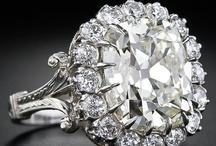 Bling Bling Wedding Rings / by Annalisa Stahler