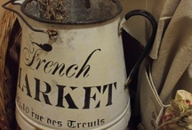 The French Market...Broncante style... / by * Touched by Time