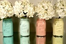 Crafts. - Jars, Glassware, Vases, Pots, etc. / by Joyce Hicks