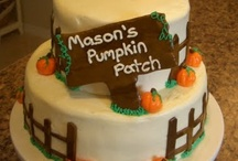 Pumpkin Patch Inspiration / Pumpkin Patch Party, Pumpkin Cakes, Pumpkin Treats, Pumpkins, Fall Parties, Pumpkin Party Decorations / by A to Zebra Celebrations ~ Nancy ~