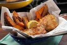 Seafood Recipes / by Myra Richins
