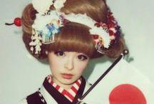 Fashion in Japan / 日本のファッション / 日本を象徴するファッションのコレクション。 Fashion collection which symbols of Japan. / by Aiyama Kimono / あい山本屋 リサイクル着物専門店