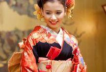 Real Style of Kimono / 着物の着こなし / 日本人の着物の着こなしをご紹介。/ Collection of basic and traditional way of wearing kimono.  / by Aiyama Kimono / あい山本屋 リサイクル着物専門店