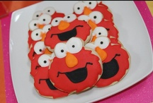 Elmo Party Ideas / Elmo Party Ideas, Elmo Decorations, Elmo Cakes, Elmo Cookies, Sesame Street Party Ideas, Elmo Favors / by A to Zebra Celebrations ~ Nancy ~