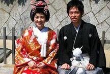 Wedding in Japan / 日本の結婚式 / 日本の結婚式 / Wedding in Japan / by Aiyama Kimono / あい山本屋 リサイクル着物専門店