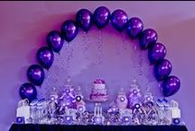 Purple Party Ideas / Purple Party Ideas, Purple Cakes, All things Purple / by A to Zebra Celebrations ~ Nancy ~