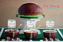 Football / A collection for all things Football! Food, snacks, party ideas, games, party favors and more! / by A to Zebra Celebrations ~ Nancy ~