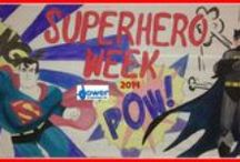 CCC Superhero Week / http://pinterest.com/search/?q=superhero+crafts / by DowerandAssociates