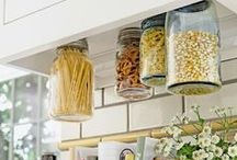 Smart Kitchen Tips & Ideas / Simply genius little gems to make life a whole lot easier! / by Lynn Martin