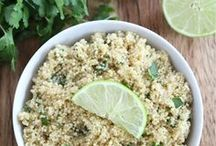 Om nom nom - Wheatfree / Quinoa and other non-wheat recipes / ideas.  / by Karin Elizabeth
