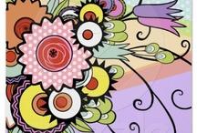 Art Deco Florals / by Nancy Lorene