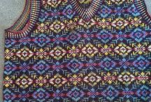Fair Isle / Everything knitted with design from the island Fair Isle  / by Ann Myhre