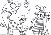 Coloring Pages  - I LOVE COLORING!!!! / by LeeAnn Miller