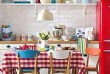 Kitchen / by Tarja Kankaanpää-Salonen