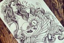 Get lost in Art <3 / by Linda Helm