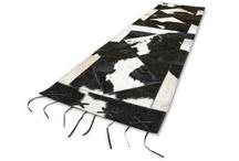 Camino de mesa Cuero Vaca - cow leather Table runner / by Mission Argentina