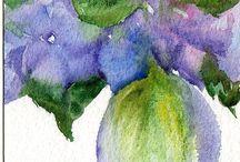 Watercolor goodness / by Mary Ann A. aka Bella ART