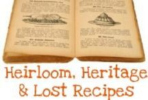 Vintage Recipes / by Lee Gruhn