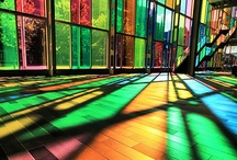 Stained Glass...the beauty of color / by Cheri Jones
