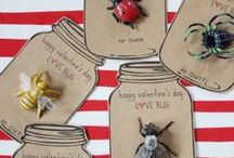Valentines Day / Funny valentine, creative valentine, kiddie valentine, sweet sweet valentine...treats, gifts, crafts, decor, and of course valentines.  / by Kath Blogger @ House of Paint