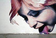 "Street Art, Urban Art ~ Arte de la Calle, Arte Urbano / ""Graffiti is an impulse to get recognized"" ~Mint&Serf  / by Irene Niehorster"