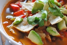 Soups and Chili / soup and chili / by Clarice Hurst