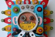 Recycled Art & Assemblages ~ Arte Reciclado & Ensamblajes / by Irene Niehorster