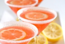 """Delicious Drinks, Fun Beverages & Exotic Cocktails ~ Bebidas Deliciosas & Cócteles Exóticos / """"Here's to alcohol: the cause of, and answer to, all of life's problems."""" ~The Simpsons    / by Irene Niehorster"""