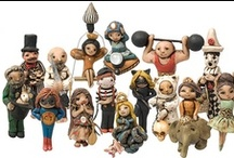 "Art Dolls & Figures ~ Muñecos(as) Artisticos(as) & Figuras de arte / ""There are toys for all ages"" ~French Proverb / ""Hay juguetes para todas las edades"" ~Proverbio Francés / by Irene Niehorster"
