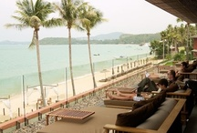 Chill Lounge Samui / Overlooking the golden sands and turquoise waters of Koh Samui's up-market Bophut Bay, The elevated Chill Lounge offers a chic and trendy living space at the heart of the hotel.  Operating Hours: Open daily from 11.00 am to 12.00 midnight.  Happy Hour Nightly from 21:30-22:30.  / by Hansar Hotels
