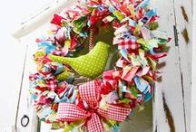 Wreaths and Door Decor / by Allison Callaway
