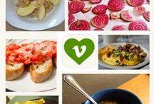 Vegan + Vegetarian Meals  / by Healthy. Happy. Smart
