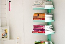 Bookcases and built-ins... / I've got to get my books out of boxes! / by Elana Ashanti Jefferson