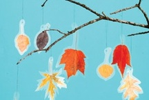 Leaves: Kid Crafts and Projects  / Celebrate fall with these fun projects to do with your kids. / by Angie Wynne