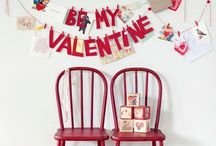 valentiney. / Valentine diy projects and decor / by cheryl @ a pretty cool life.