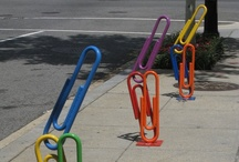 Bike Racks / Fun, unique, handy places to park your ride. / by Pedal Pirates Cycle Crew