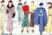 fashion, styles and trends of the past / by Pam Kuenstler