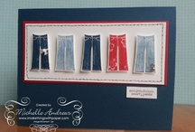 SU Stampin Up! Paper Crafting, Cards  / Mostly SU plus ideas to make from SU stuff ;) / by Michelle Andrews - Stampin Up Demo