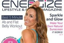 Magazine covers Natalie Jill Fit / Some of the magazines I have had the honor of gracing! / by Natalie Jill Fitness