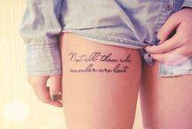 Tattoos / by Morgan Washington